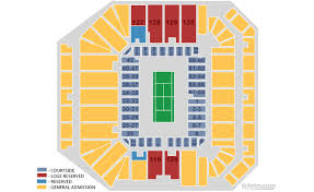 Arthur Ashe Stadium Seating Chart Lower Promenade Guide To The Us Open At The Us National Tennis Center