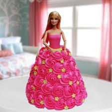 Buy Barbie Doll Cake Designer Cakes Online Get Same Day Mid