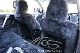 custom sheepskin car seat covers series made sydney