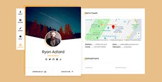 Ryan - Vcard / Resume / Cv Template By Beshleyua | Themeforest