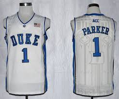 College Jersey Duke Store Nba Patch-cheap White Jabari Acc Wholesale Performance Blue Basketball 1 Ncaa Devils Parker