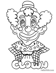 clown coloring pages okids for page