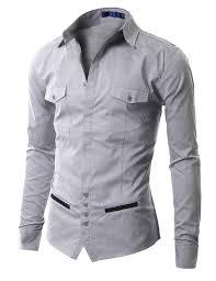 Designer Shirt With Holes Mens Casual Unique Design Dress Shirts Aak01 Designer