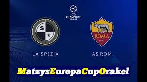M.E.C.O. #056 FC La Spezia Calcio - AS Rom I Runde 1 [FIFA 20] [Deutsch] -  YouTube