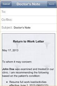 Print Out A Fake Doctors Note For Work Free Printable Doctors Excuse For Work Template Business