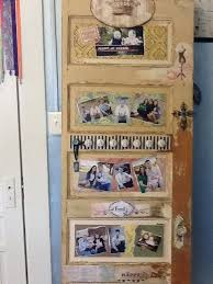 decoupage old door with family photos photo picture frames photo projects old family photos