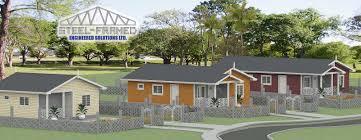 Steel Framed Houses Home Steel Framed Engineered Solution Limited Trinidad