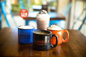 Come treat yo self to some tasty, fresh local booc. Sunrise Coffee 30a S Funkiest Lil Coffee Shop