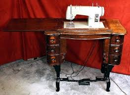 Vintage Sewing Machine Cabinets
