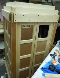 Diy cat playhouse Build Fab Art Diy Tutorials Diy Tardis Cat Fort Playhouse Free Plan