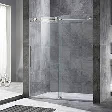woodbridge 60 x 72 double sliding frameless shower door