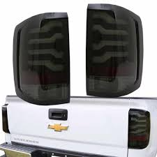 Silverado Smoked Tail Lights | eBay