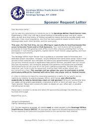 Request For Sponsorship Letter Sample Blank Grid Chart
