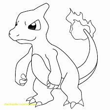 Pokemon Coloring Pages Charmeleon At Getcoloringscom Free