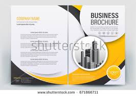 vector brochure layout flyers design template pany profile magazine poster annual