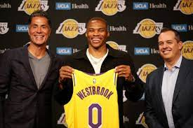 Russell Westbrook is home on the Lakers ...