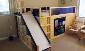 bunk beds with slide ikea. Plain Slide JmallcreatedIKEAhackbunkbedslidesecret In Bunk Beds With Slide Ikea L