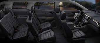 gmc acadia 2015 interior. picture showing the spacious and luxurious interior of 2017 gmc acadia denali midsize gmc 2015 i