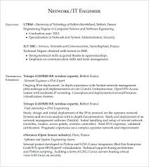 Engineering Manager Resume Examples Awesome System Engineering Manager Resume Network Engineer Format 48 Sample