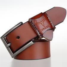 cowather men s genuine leather casual fashion pin buckle leather belt jeansfellow