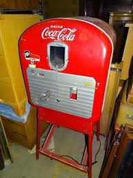 Old Soda Vending Machines Custom VINTAGE ORIGINAL COCA Cola Vendorlator Vending Machine Soda Bottle