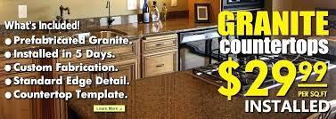 cost for granite countertops per square foot prefabricated cou granite countertops per square foot with granite
