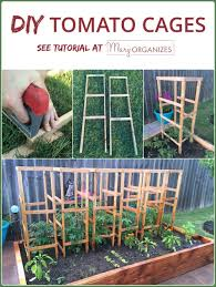 Diy tomato cage Vegetable Garden Diy Tomato Cage Tutorial For The Organic Garden v1 Creatingmaryshomecom Diy Tomato Cage Tutorial garden Tips Creatingmaryshomecom