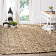runner rugs safavieh casual natural jute hand woven chunky thick rug 8 x 10