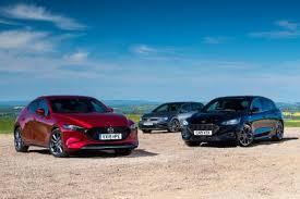 Mazda 3 Vs Ford Focus Vs Volkswagen Golf Auto Express