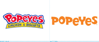 popeyes fried chicken logo. Interesting Chicken Popeyes Logo Before And After Throughout Fried Chicken Logo I