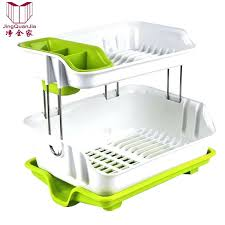 drying dish rack 2 layer space saver dish drainer drying rack stainless steel dish rack plate drying dish rack