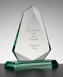 Employee Of The Month Trophy Personalised Engraved Arrow Jade Glass Award Trophy Employee Of The Month Ebay