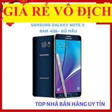 điện thoại Samsung Galaxy Note 5 32G ram 4G mới- Chơi PUBG/Free Fire mướt  (màu Xanh đen)