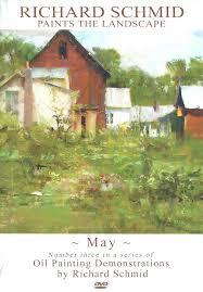 richard schmid paints the landscape may dvd