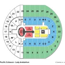 Pacific Coliseum Seating Chart Seat Numbers Pacific Coliseum