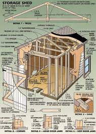 Small Picture Your Own Garden Shed Plan Shed Blueprints