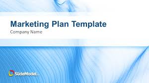 Marketing Plan Powerpoints Blue Marketing Plan Template For Powerpoint Slidemodel