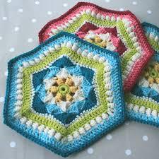 Hexagon Crochet Pattern Best Shells And Cluster Hexagon Crochet Pattern WoolnHook By Leonie Morgan