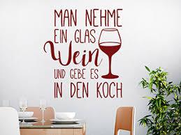 Wandtattoo Zitate über Essen Und Trinken Wandtattoode