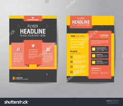 corporate brochure flyer design layout template stock vector corporate brochure flyer design layout template in a4 size bleed vector eps10