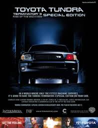 Toyota Tundra T3 Terminator 3 Promotional – Toyota Tundra