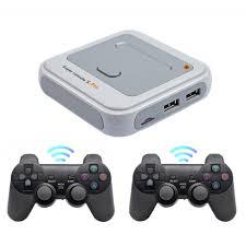 Wireless Console 4K HD Super Console X Pro 50+ Emulator 50000+ Games Retro  Mini TV Box Video Game Player For PS1/N64/DC - Mega Deal #D9897