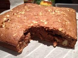 Resultado de imagen de pastel de chocolate y nueces
