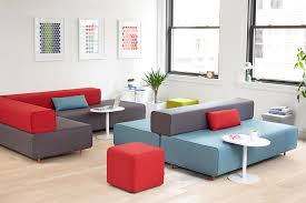 modern office lounge furniture. Block Party Lounge Bench Office Furniture Poppin Flexible Ideas 39 Modern