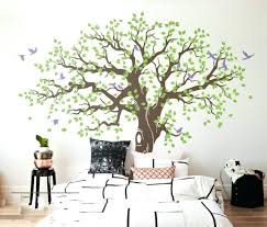 large tree wall decal spring tree vinyl wall sticker large tree wall stickers home cor wall large tree wall decal