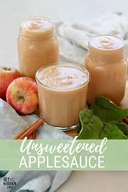 unsweetened applesauce instant pot