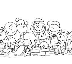 Peanuts Characters Coloring Pages Balrampur