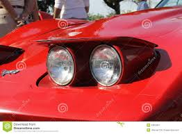 Pop Up Lights Red Pop Up Headlamps Editorial Photo Image 53853991