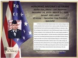 salute to veterans essay scholarship winner el mirage az  slide4