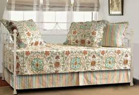 Discount Fashion Day Bed Quilted Quilt Sets Patchwork Cotton & Day Bed Quilt Set Esprit Bohemian Collection Boho Chic Adamdwight.com